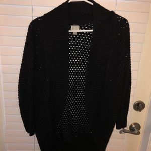 NEW Black cardigan sweater